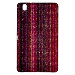 Colorful And Glowing Pixelated Pixel Pattern Samsung Galaxy Tab Pro 8.4 Hardshell Case