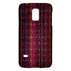 Colorful And Glowing Pixelated Pixel Pattern Galaxy S5 Mini