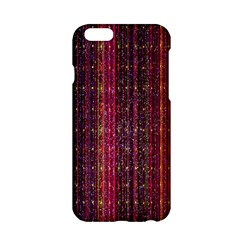 Colorful And Glowing Pixelated Pixel Pattern Apple iPhone 6/6S Hardshell Case
