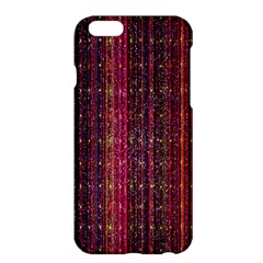 Colorful And Glowing Pixelated Pixel Pattern Apple iPhone 6 Plus/6S Plus Hardshell Case