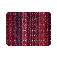 Colorful And Glowing Pixelated Pixel Pattern Double Sided Flano Blanket (mini)
