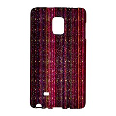 Colorful And Glowing Pixelated Pixel Pattern Galaxy Note Edge