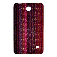 Colorful And Glowing Pixelated Pixel Pattern Samsung Galaxy Tab 4 (8 ) Hardshell Case