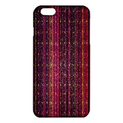 Colorful And Glowing Pixelated Pixel Pattern iPhone 6 Plus/6S Plus TPU Case