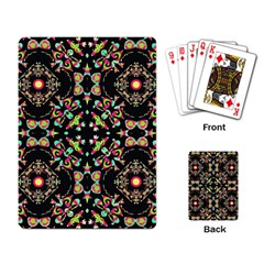 Abstract Elegant Background Pattern Playing Card