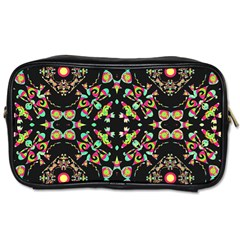 Abstract Elegant Background Pattern Toiletries Bags 2 Side