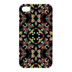 Abstract Elegant Background Pattern Apple iPhone 4/4S Premium Hardshell Case