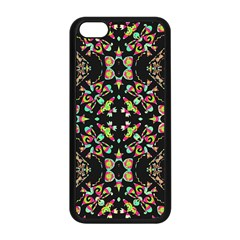 Abstract Elegant Background Pattern Apple iPhone 5C Seamless Case (Black)