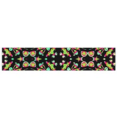 Abstract Elegant Background Pattern Flano Scarf (Small)