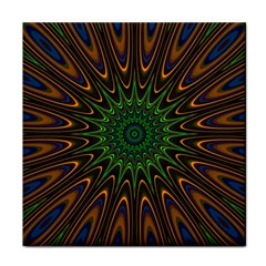 Vibrant Colorful Abstract Pattern Seamless Tile Coasters
