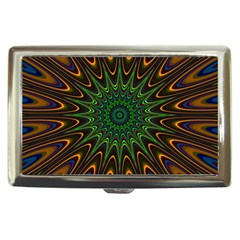 Vibrant Colorful Abstract Pattern Seamless Cigarette Money Cases