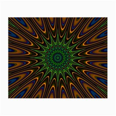 Vibrant Colorful Abstract Pattern Seamless Small Glasses Cloth