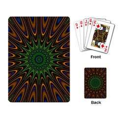 Vibrant Colorful Abstract Pattern Seamless Playing Card