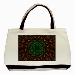 Vibrant Colorful Abstract Pattern Seamless Basic Tote Bag