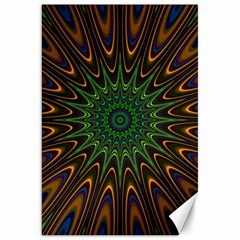 Vibrant Colorful Abstract Pattern Seamless Canvas 20  X 30
