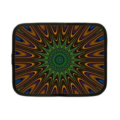 Vibrant Colorful Abstract Pattern Seamless Netbook Case (small)