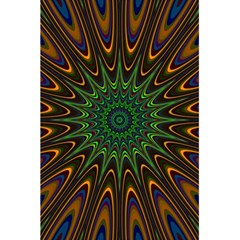 Vibrant Colorful Abstract Pattern Seamless 5 5  X 8 5  Notebooks