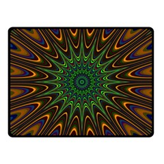Vibrant Colorful Abstract Pattern Seamless Fleece Blanket (small)
