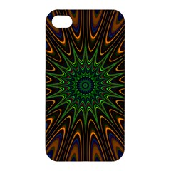 Vibrant Colorful Abstract Pattern Seamless Apple iPhone 4/4S Hardshell Case