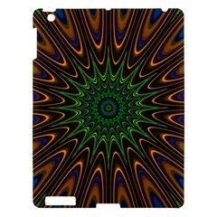 Vibrant Colorful Abstract Pattern Seamless Apple Ipad 3/4 Hardshell Case