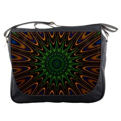 Vibrant Colorful Abstract Pattern Seamless Messenger Bags