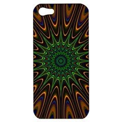 Vibrant Colorful Abstract Pattern Seamless Apple iPhone 5 Hardshell Case