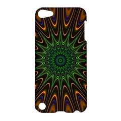 Vibrant Colorful Abstract Pattern Seamless Apple iPod Touch 5 Hardshell Case