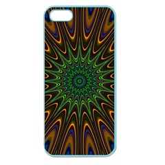 Vibrant Colorful Abstract Pattern Seamless Apple Seamless iPhone 5 Case (Color)
