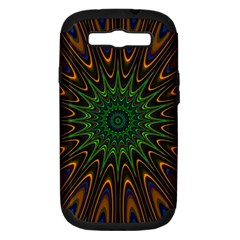 Vibrant Colorful Abstract Pattern Seamless Samsung Galaxy S Iii Hardshell Case (pc+silicone)