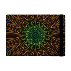 Vibrant Colorful Abstract Pattern Seamless Apple iPad Mini Flip Case