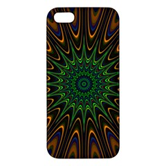Vibrant Colorful Abstract Pattern Seamless Apple iPhone 5 Premium Hardshell Case