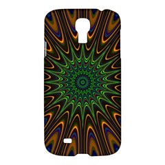 Vibrant Colorful Abstract Pattern Seamless Samsung Galaxy S4 I9500/i9505 Hardshell Case