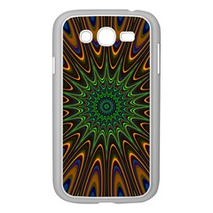 Vibrant Colorful Abstract Pattern Seamless Samsung Galaxy Grand DUOS I9082 Case (White)