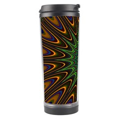 Vibrant Colorful Abstract Pattern Seamless Travel Tumbler