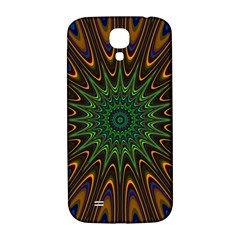 Vibrant Colorful Abstract Pattern Seamless Samsung Galaxy S4 I9500/I9505  Hardshell Back Case