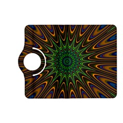 Vibrant Colorful Abstract Pattern Seamless Kindle Fire HD (2013) Flip 360 Case