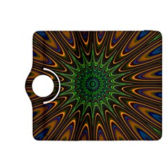 Vibrant Colorful Abstract Pattern Seamless Kindle Fire HDX 8.9  Flip 360 Case