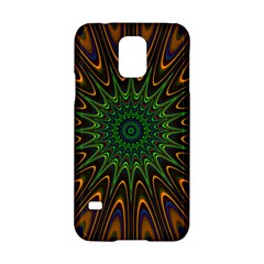 Vibrant Colorful Abstract Pattern Seamless Samsung Galaxy S5 Hardshell Case
