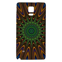 Vibrant Colorful Abstract Pattern Seamless Galaxy Note 4 Back Case