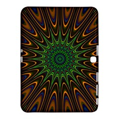 Vibrant Colorful Abstract Pattern Seamless Samsung Galaxy Tab 4 (10.1 ) Hardshell Case