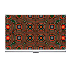 Vibrant Pattern Seamless Colorful Business Card Holders