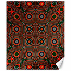 Vibrant Pattern Seamless Colorful Canvas 20  x 24