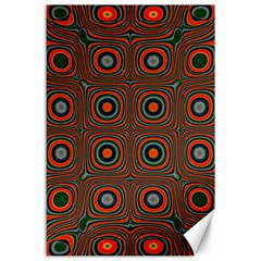 Vibrant Pattern Seamless Colorful Canvas 24  X 36