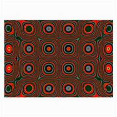 Vibrant Pattern Seamless Colorful Large Glasses Cloth (2 Side)