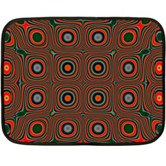 Vibrant Pattern Seamless Colorful Double Sided Fleece Blanket (mini)