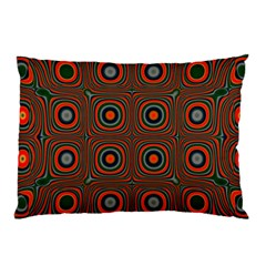 Vibrant Pattern Seamless Colorful Pillow Case (Two Sides)