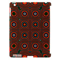 Vibrant Pattern Seamless Colorful Apple iPad 3/4 Hardshell Case (Compatible with Smart Cover)