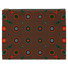 Vibrant Pattern Seamless Colorful Cosmetic Bag (xxxl)