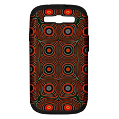 Vibrant Pattern Seamless Colorful Samsung Galaxy S III Hardshell Case (PC+Silicone)