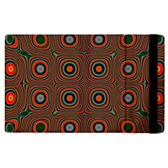Vibrant Pattern Seamless Colorful Apple iPad 3/4 Flip Case